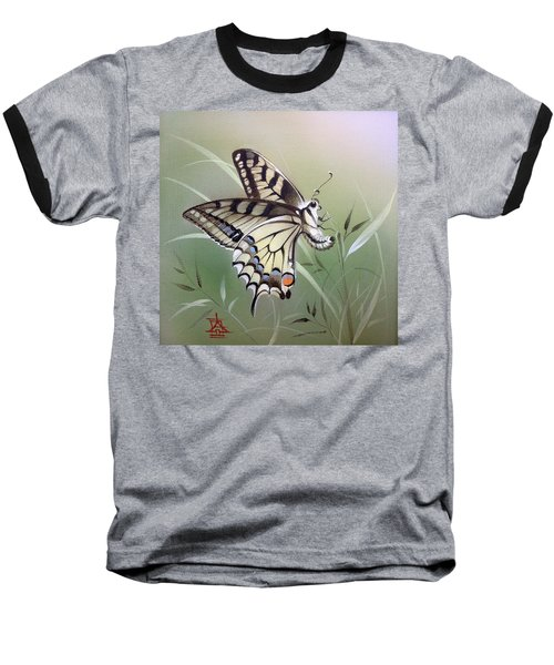 Fleeting Beauty.  Swallowtail Baseball T-Shirt
