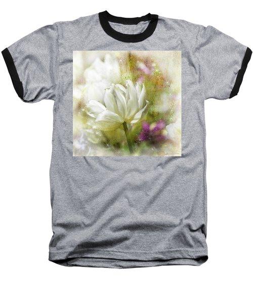 Floral Dust Baseball T-Shirt