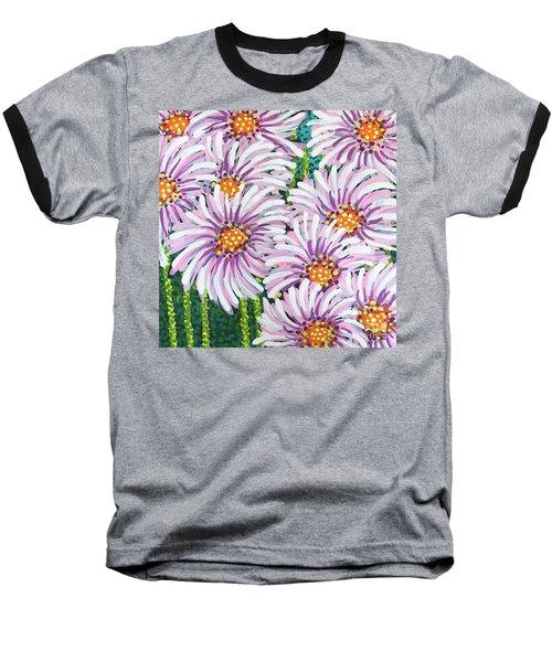 Floral Whimsy 1 Baseball T-Shirt