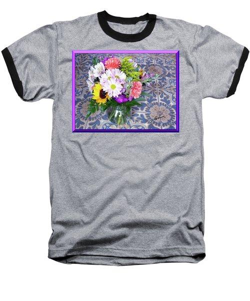 Flower Bouquet  Baseball T-Shirt