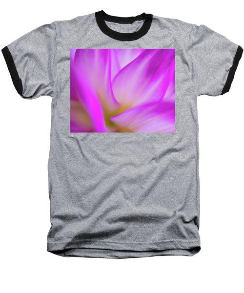 Flower Close Up Baseball T-Shirt