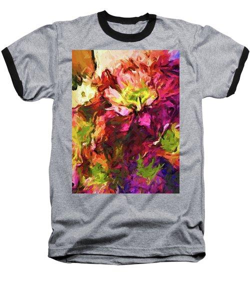 Flower Colour Love 2 Baseball T-Shirt