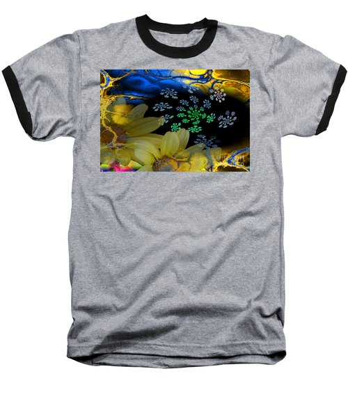 Flower Power Baseball T-Shirt