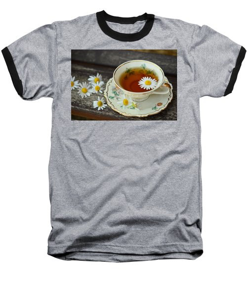 Flower Tea Baseball T-Shirt