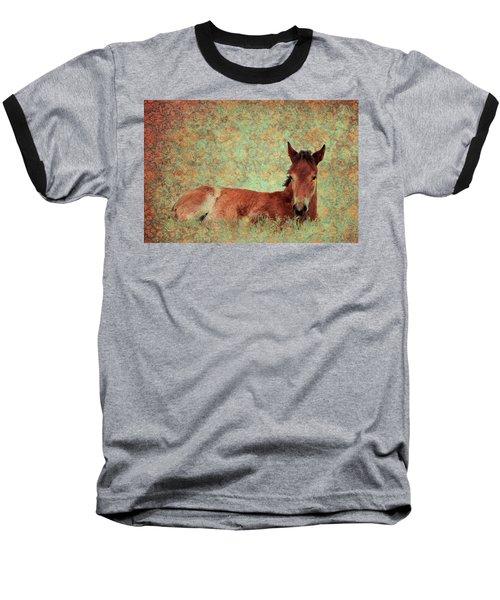 Flowery Foal Baseball T-Shirt