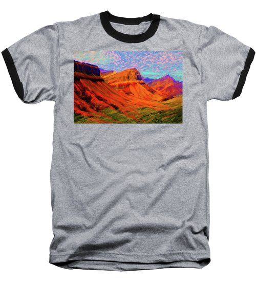 Flowing Rock Baseball T-Shirt
