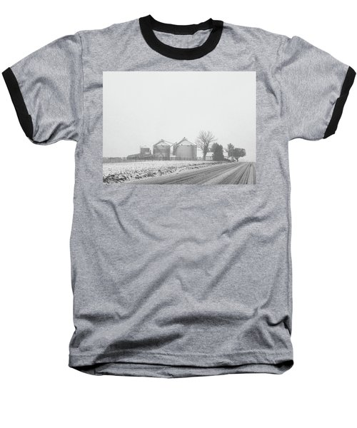 Foggy Farm Baseball T-Shirt