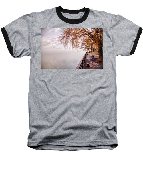 Foggy Niagara Baseball T-Shirt