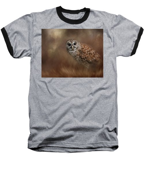 Foraging In The Field Baseball T-Shirt