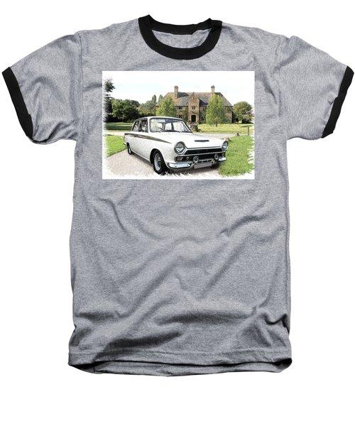 Ford 'lotus' Cortina Baseball T-Shirt