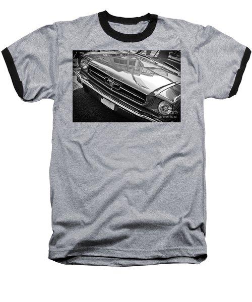 Ford Mustang Vintage 2 Baseball T-Shirt