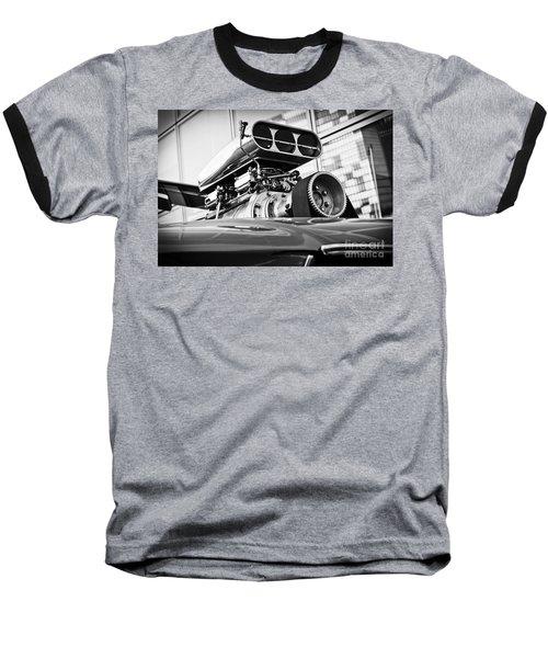 Ford Mustang Vintage Motor Engine Baseball T-Shirt