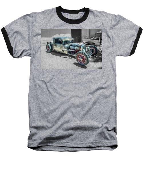 Ford Rat Rod Baseball T-Shirt