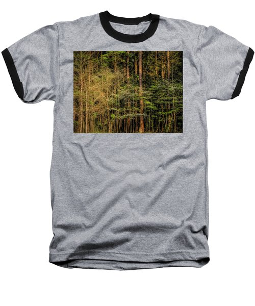Forest Dogwood Baseball T-Shirt