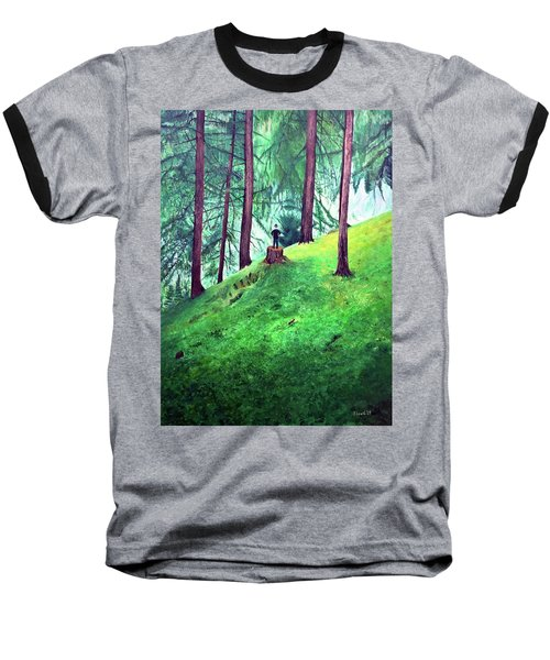 Forest Through The Trees Baseball T-Shirt