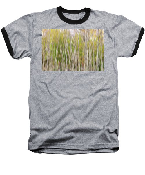 Baseball T-Shirt featuring the photograph Forest Twist And Turns In Motion by James BO Insogna