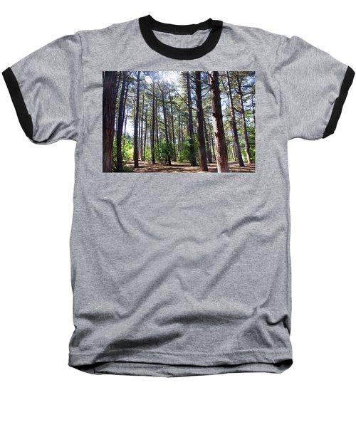 Formby. Woodland By The Coast Baseball T-Shirt
