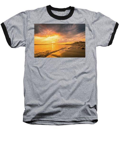Fort Foster Sunset Watchers Club Baseball T-Shirt