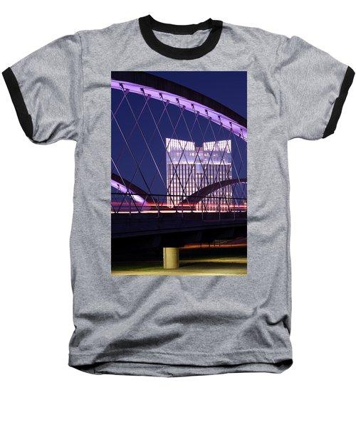 Fort Worth West Seventh Street Bridge V2 021419 Baseball T-Shirt