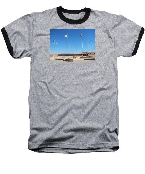 Four Corners Monument Baseball T-Shirt