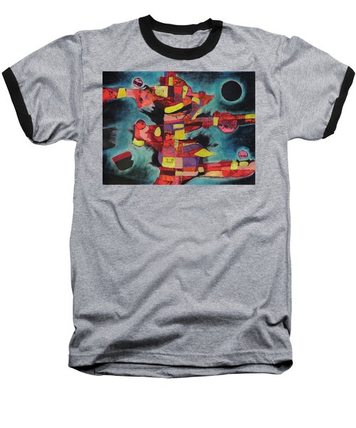 Fractured Fire Baseball T-Shirt