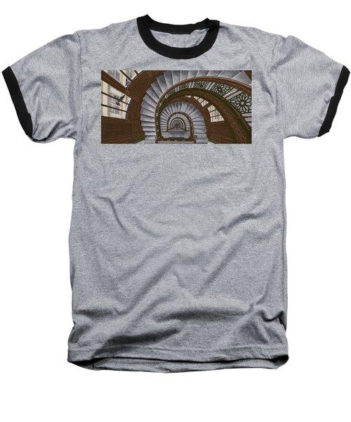 Frank Lloyd Wright - The Rookery Baseball T-Shirt