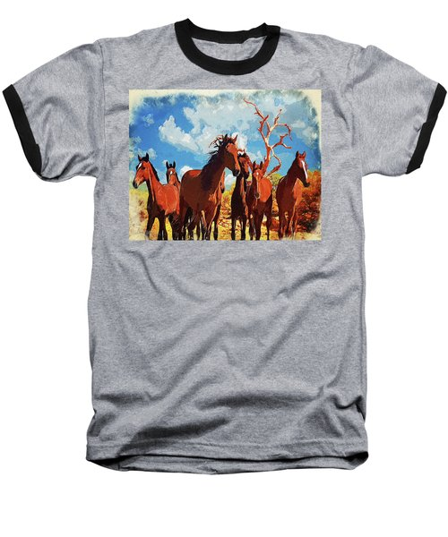 Free Spirits Baseball T-Shirt