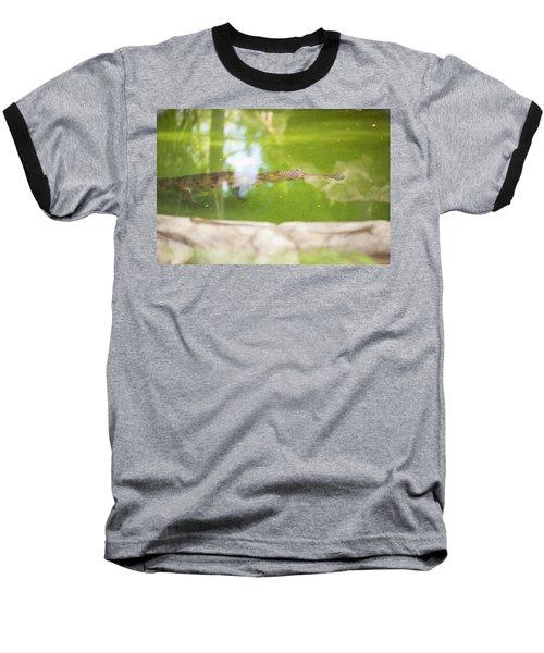 Freshwater Crocodile Baseball T-Shirt