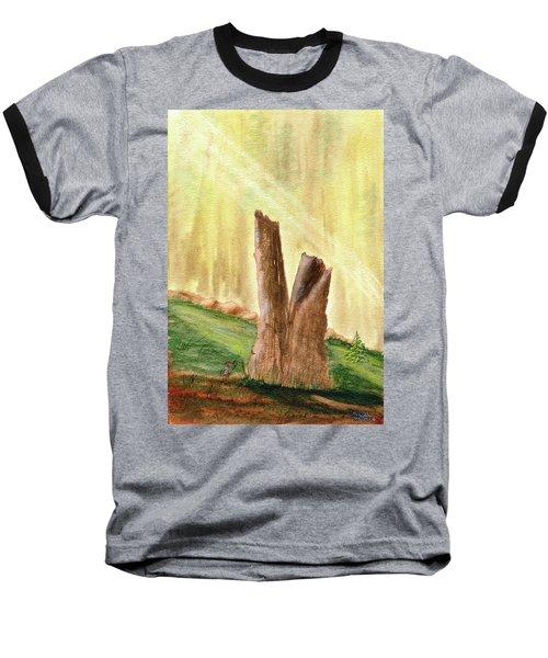 From Ruins Comes New Life Baseball T-Shirt