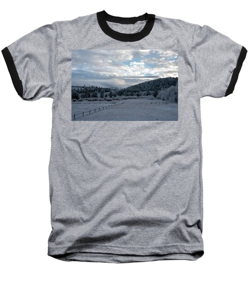 Frosted Sunrise 1 Baseball T-Shirt