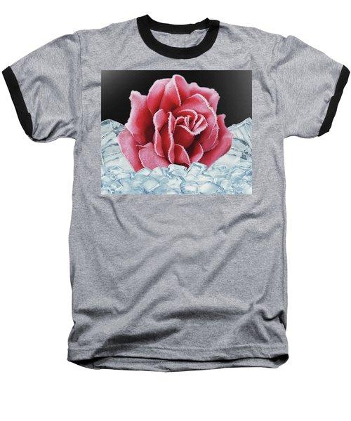 Frozen Rose Baseball T-Shirt