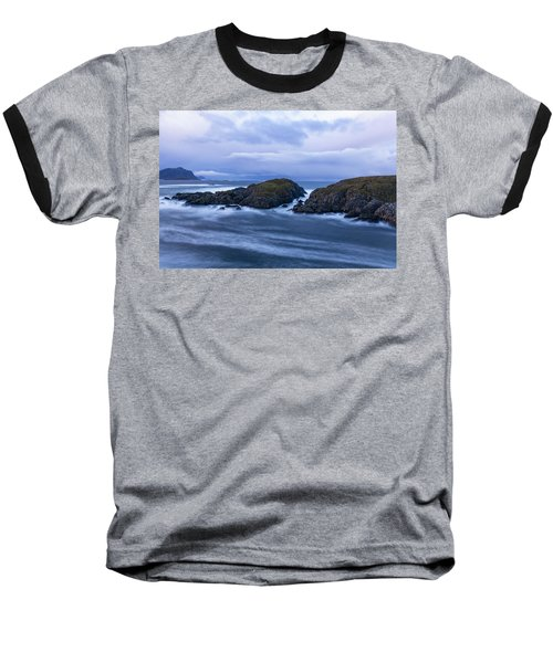 Frozen Water Movement Baseball T-Shirt