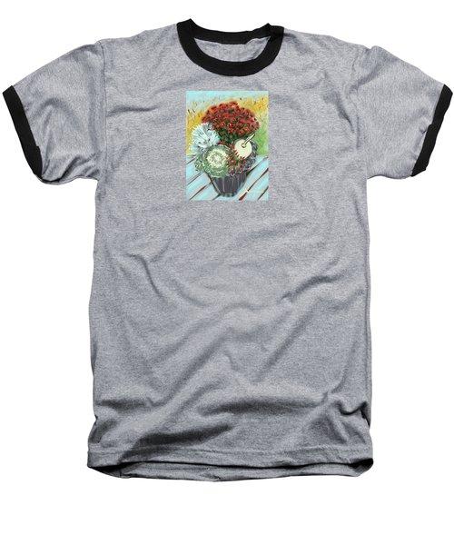Fruits Of Fall Baseball T-Shirt