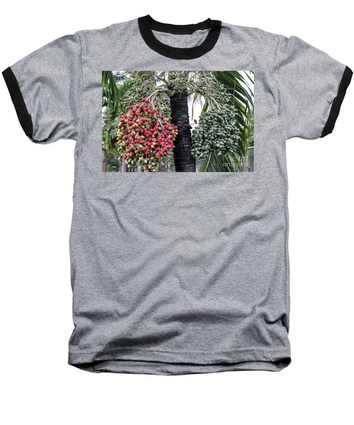 Fruity Palm Tree  Baseball T-Shirt