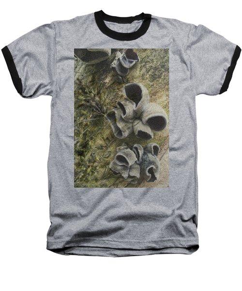 Fungi And Algae Baseball T-Shirt