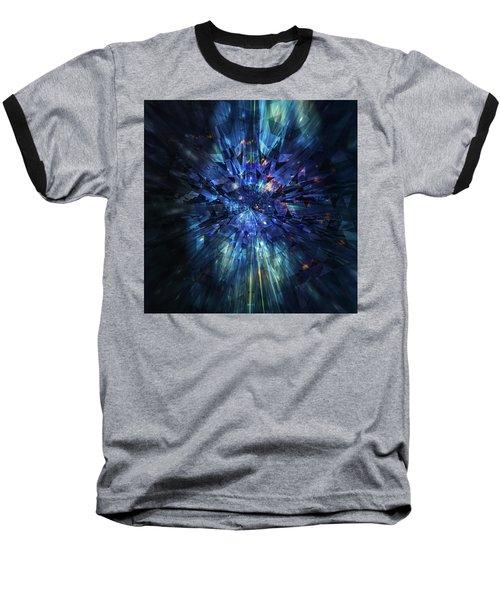 Galactic Crystal Baseball T-Shirt