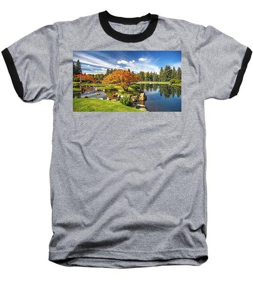 Garden Splendour Baseball T-Shirt
