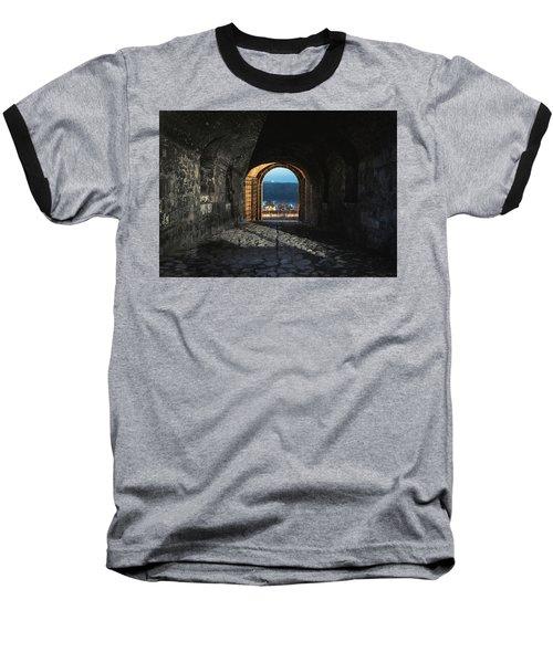 Gate At Kalemegdan Fortress, Belgrade Baseball T-Shirt
