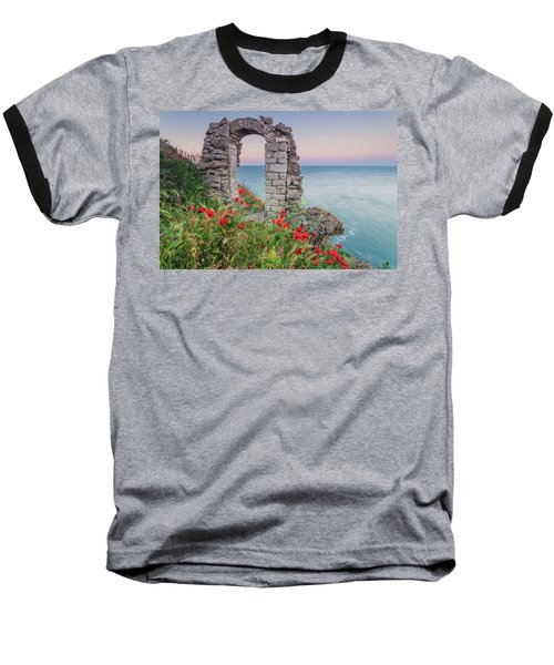 Gate In The Poppies Baseball T-Shirt