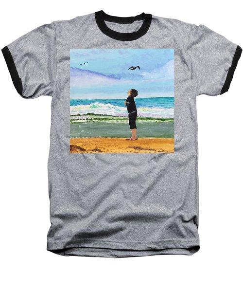 Gazing At Gulls Baseball T-Shirt