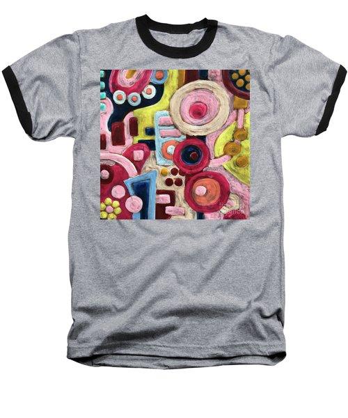 Geometric Abstract 1 Baseball T-Shirt