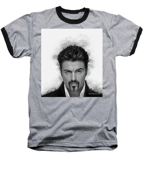 George Michael Baseball T-Shirt