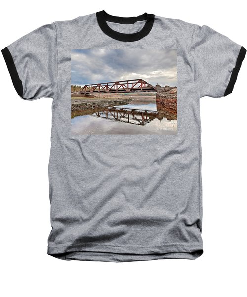 Ghost Bridge - Colebrook Reservoir Baseball T-Shirt