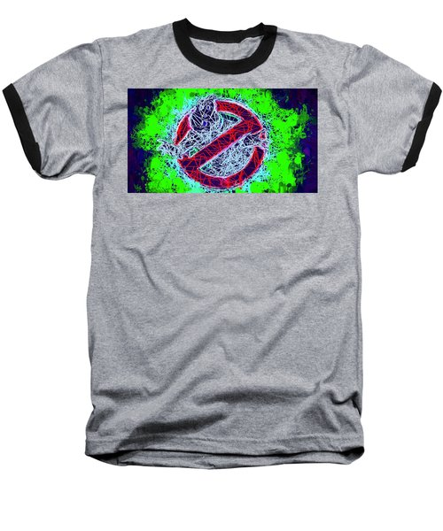 Ghostbusters Logo Baseball T-Shirt