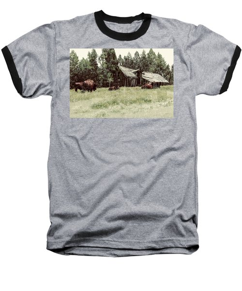 Ghosts Of The Plains Baseball T-Shirt