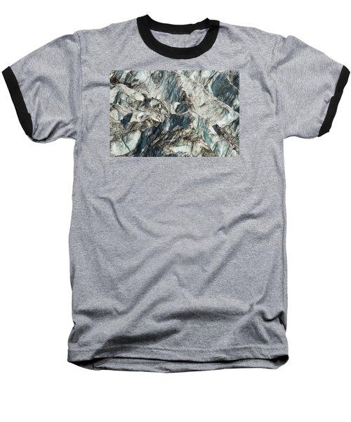 Glacier Ice 1 Baseball T-Shirt