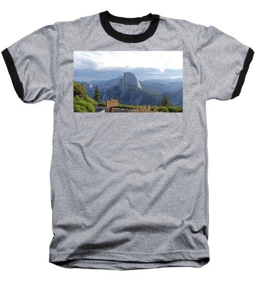 Glacier Point Baseball T-Shirt