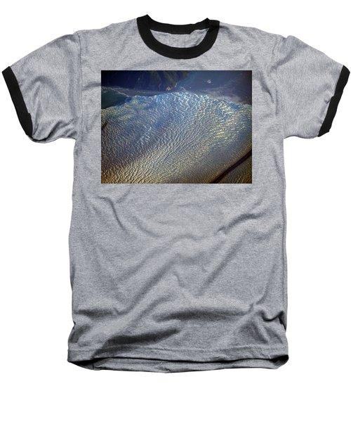 Glacier Texture Baseball T-Shirt