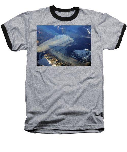 Glaciers Converge Baseball T-Shirt