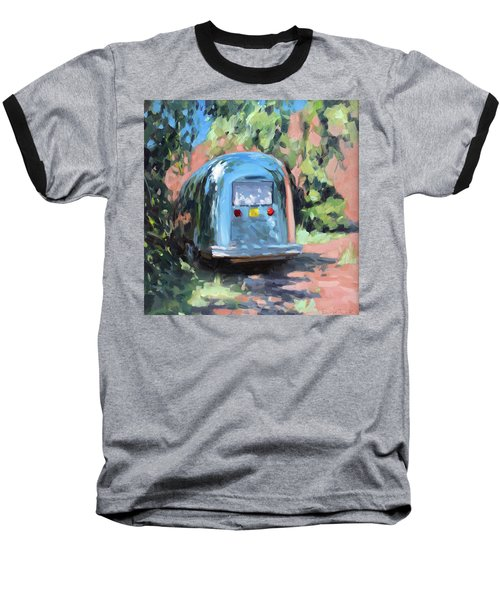 Glamping In Dappled Light Baseball T-Shirt